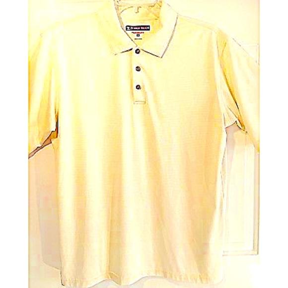 d6cee9a4e4 Pebble Beach Performance Golf Shirt XL Yellow. M_5b4b17b1fe51518f9cee02f8